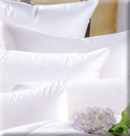 bed pillows designer bed pillows down filled bed pillows many styles u0026 colors by the florida pillow company